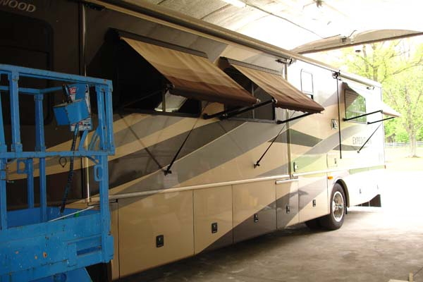 Rv Awning Sales And Rv Awning Repair Near Columbus Ohio